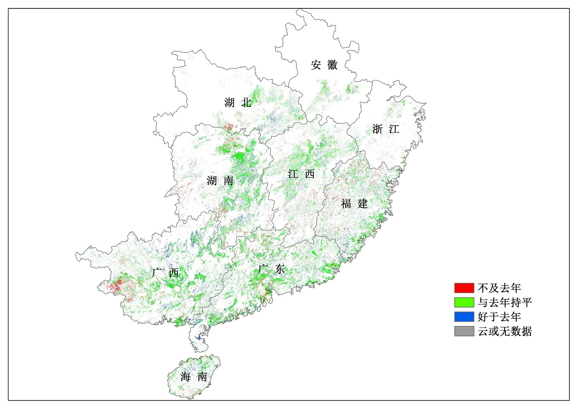 全国早稻、春小麦长势正常